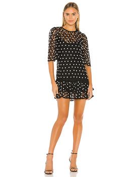 Livia Mini Dress In Black by Lovers + Friends