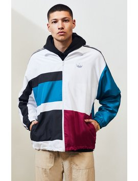 Adidas Multi Asymmetrical Track Jacket by Pacsun