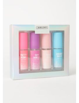 4 Pack Essential Body Mist Gift Set by Rue21