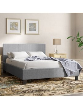 Dalia Upholstered Bed Frame by Mercury Row