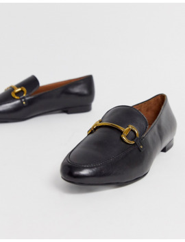 &Amp; Other Stories Leather Loafers In Black by & Other Stories