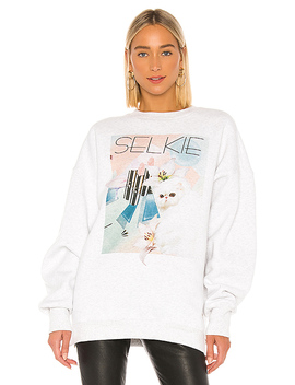 The Dream Sweater In 80's Selkie Print by Selkie