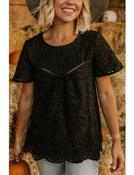Watson Eyelet Top by Roolee