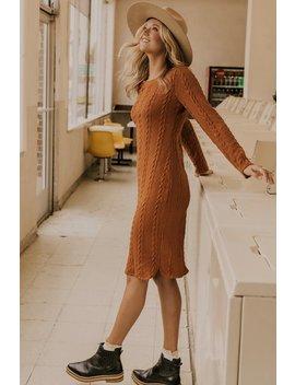Rustyn Sweater Dress by Roolee