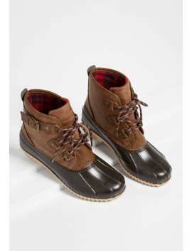 Kylie Lace Up Duck Boot by Maurices