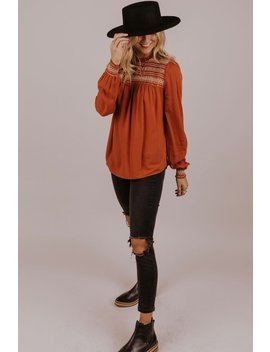 Prairie Embroidered Blouse by Roolee