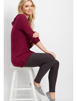 High Rise Ultra Soft Legging by Maurices