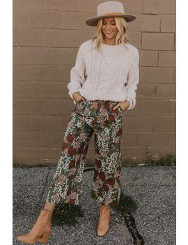 Gentry Floral Pants by Roolee