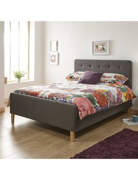 Albus Upholstered Ottoman Bed by Brambly Cottage