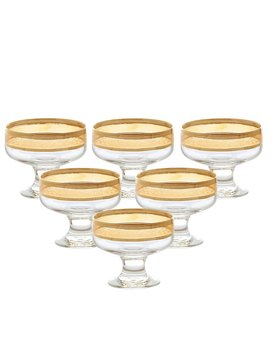 Melania 8 Oz. Pedastal Dessert Bowl by Lorren Home Trends