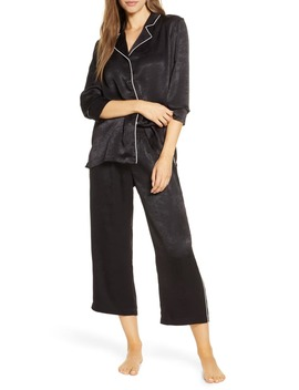 Lingerie Washed Satin Pajamas by Nordstrom
