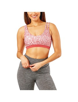 Circuit Women's Asymmetric Crop Top   Pink Print by Circuit