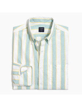 Flex Striped Flex Casual Shirt by J.Crew