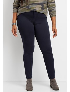Plus Size Denim Flex™ Andalusia Night Jegging by Maurices