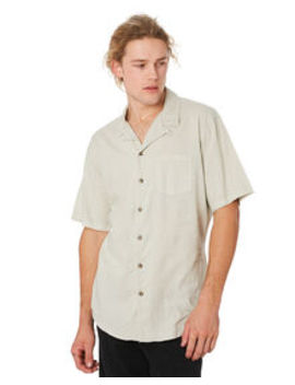 Breeze Linen Mens Ss Shirt by Silent Theory