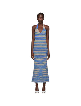 blue-la-robe-tropea-longue-dress by jacquemus