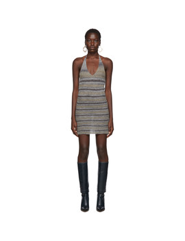 Grey 'la Robe Tropea' Dress by Jacquemus