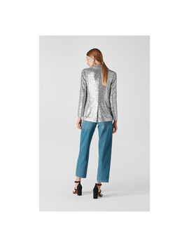 Sequin Double Breasted Blazer by Whistles