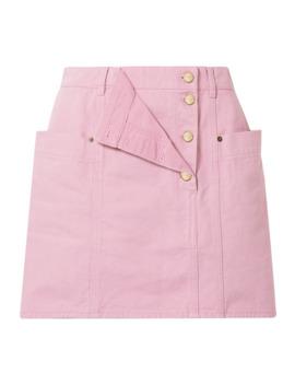 La Jupe De Nimes Layered Denim Mini Skirt by Jacquemus
