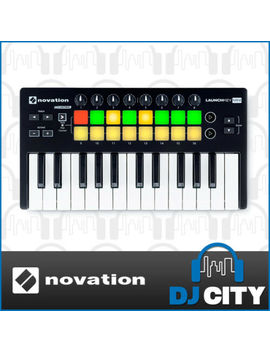 Novation Launchkey Mini Mk2 Usb Midi Keyboard + Ableton For I Os by Novation