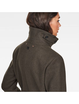 Empral Wool Trenchcoat by G Star