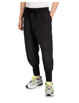 Men's Nylon Cargo Pants by Y 3