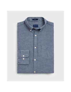 Gant Regular Fit Windblown Flannel Shirt by Gant Uk