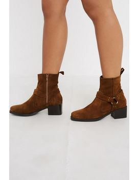 Uo Brit Harness Boot by Urban Outfitters