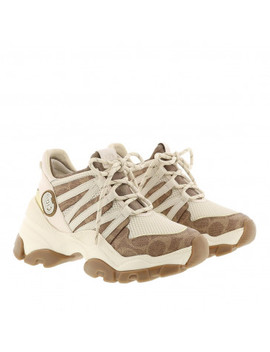 Runner Coated Canvas And Mesh Sneaker Multicolour by Coach