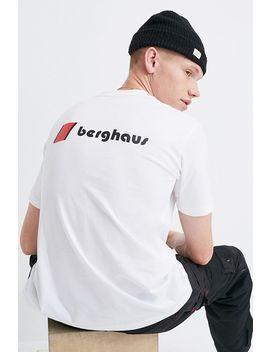 Berghaus Dean Street Corporate Logo White Short Sleeve T Shirt by Berghaus