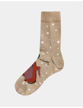asos-design---chaussettes-de-noël-dinde-qui-danse-avec-paillettes by asos-design