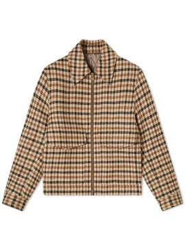 Ami Wool Check Blouson by Ami
