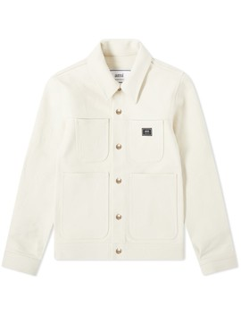 Ami Canvas Worker Jacket by Ami
