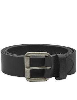 Barbour Matt Leather Belt by Barbour