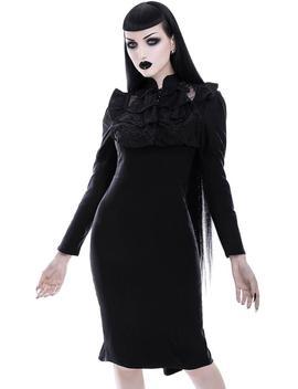 Mourn Me | Midi Dress by Killstar