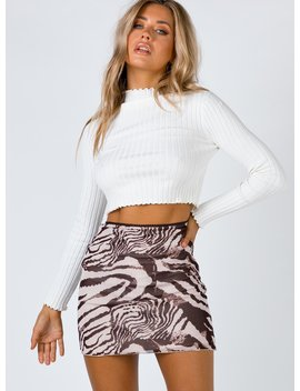 Vincent Mini Skirt by Princess Polly