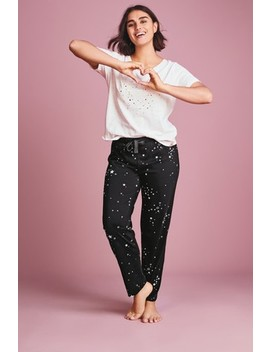 Black Star Short Sleeve Pyjamas With Ribbon Wrapping by Next