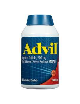 Advil Ibuprofen Pain Reliever/ Fever Reducer Tablets, 200 Mg300 Ea by Advil.Com