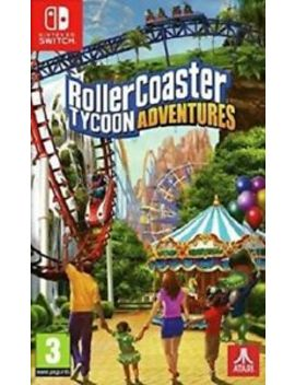 Rollercoaster Tycoon Adventures (Switch)  Brand New And Sealed   Import by Ebay Seller
