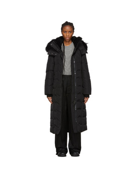 Ssense Exclusive Black Down Jada Coat by Mackage