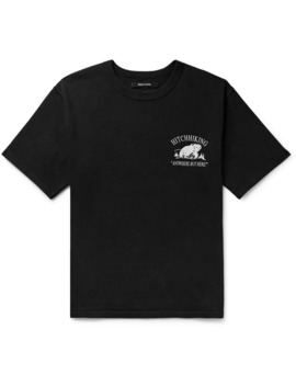 Printed Cotton Jersey T Shirt by Reese Cooper®