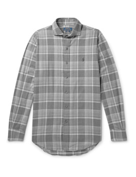Checked Cotton Flannel Shirt by Polo Ralph Lauren