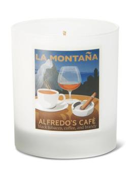 Alfredo's Café Candle, 220g by La Montaña