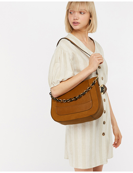 Hobo Bag With Detachable Chain by Accessorize