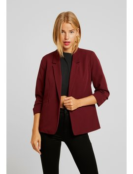 Damson Rouched Sleeve Jacket   Blazer by Dorothy Perkins Petite