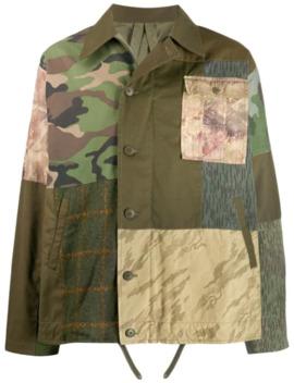 Patchwork Shirt Jacket by Maharishi