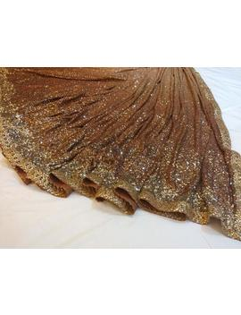 Georgette Ombré Saree With Sequins by Etsy