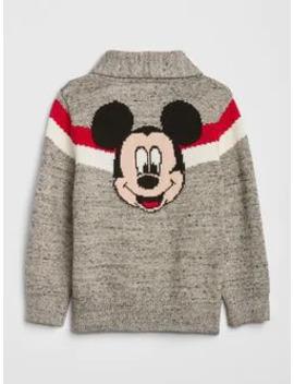Baby Gap | Disney Mickey Mouse Zip Sweater by Gap