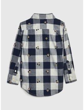 Baby Gap | Disney Mickey Mouse Plaid Shirt by Gap
