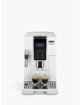 De'longhi Ecam350.35.W Dinamica Bean To Cup Coffee Machine, White by De'longhi